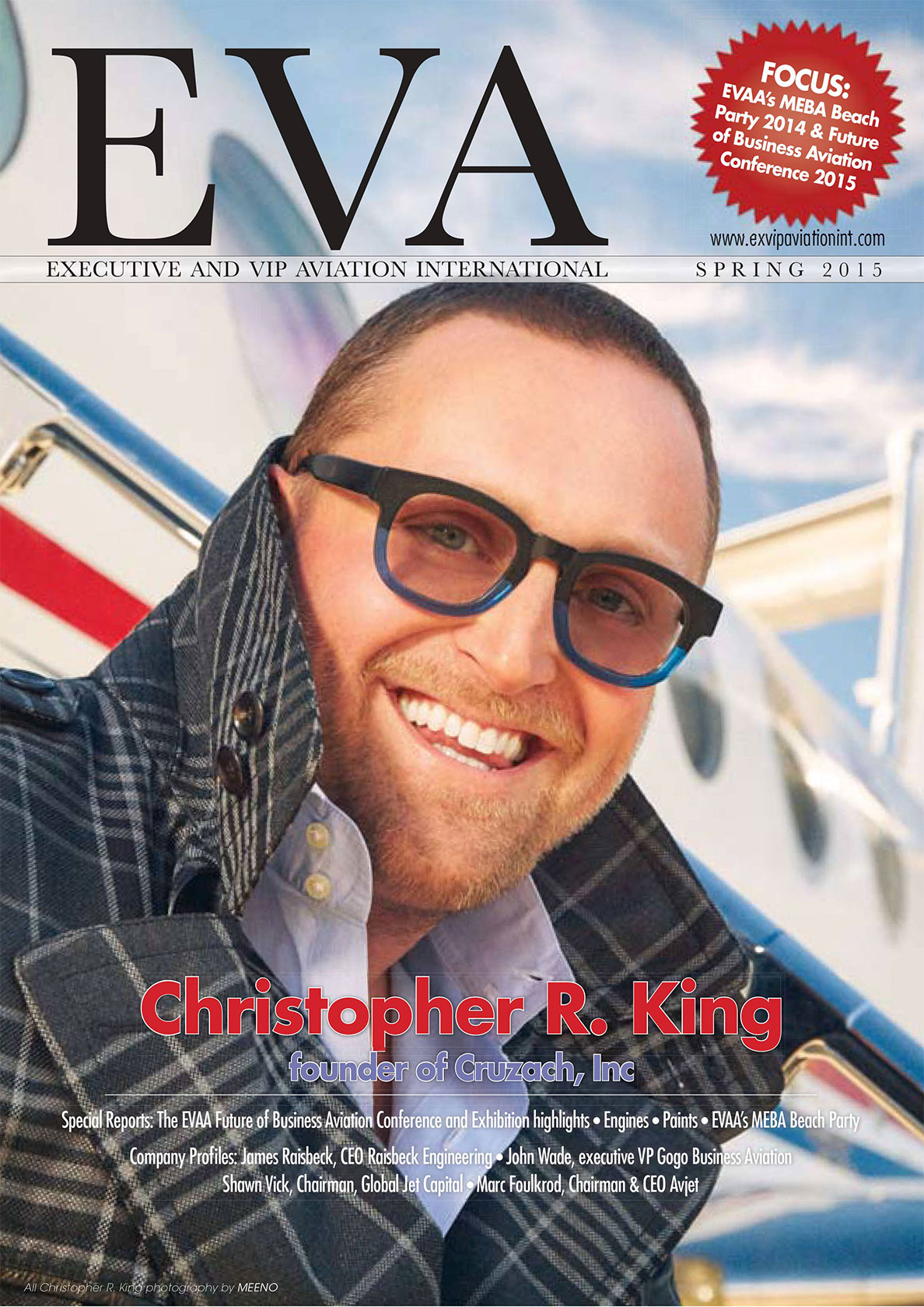 Interview with Christopher R. King for EVA Magazine