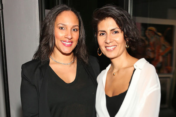 Makeda Stewart and Judi Stewart attend The Art of Elysium Private Fundraiser, hosted by Board Member, Christopher R. King on October 30, 2014 in Beverly Hills California.