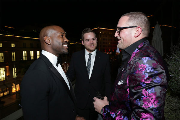 Christopher R. King Celebrates his Birthday Party at Louis Vuitton in Beverly Hills with Scott Blacquiere and Dolvett Quince