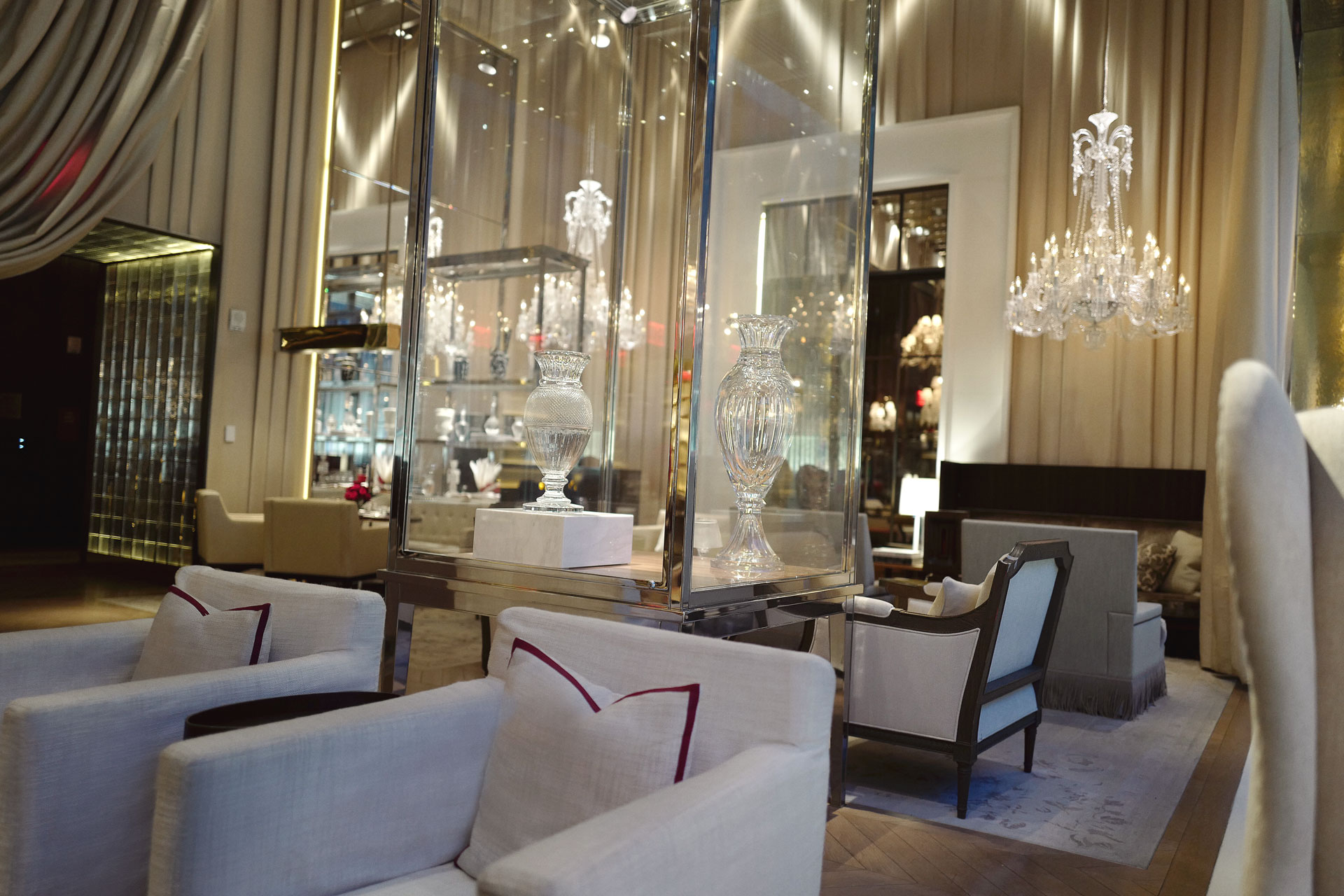 Le Gran Salon West View Baccarat Hotel New York City